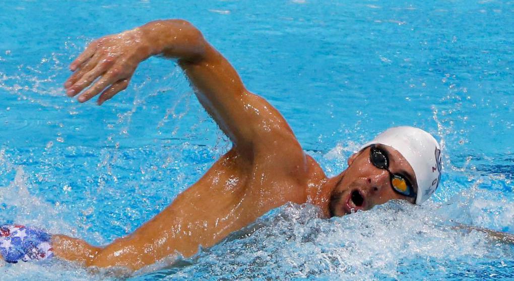 Соревновательный заплыв