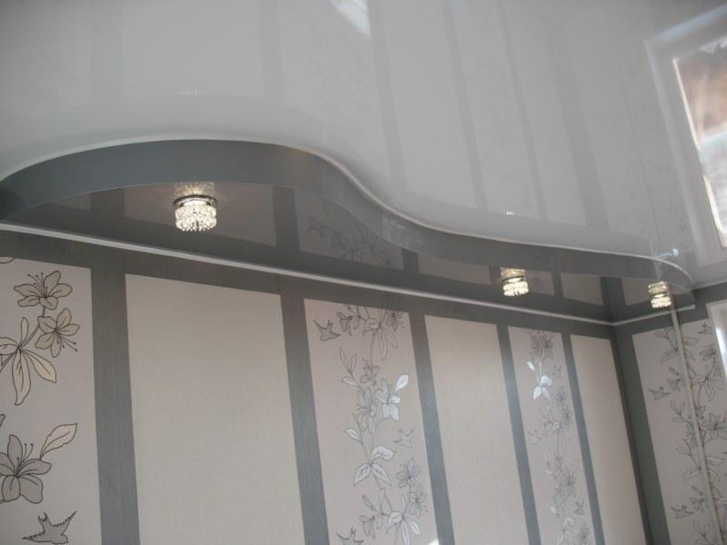 натяжные потолки двухуровневые как сделать самому