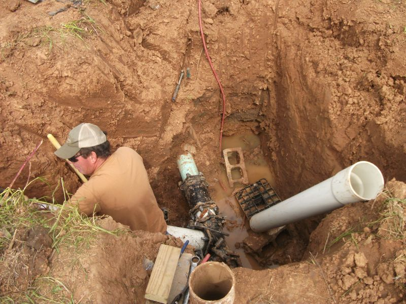 Подключение воды центрального водопровода
