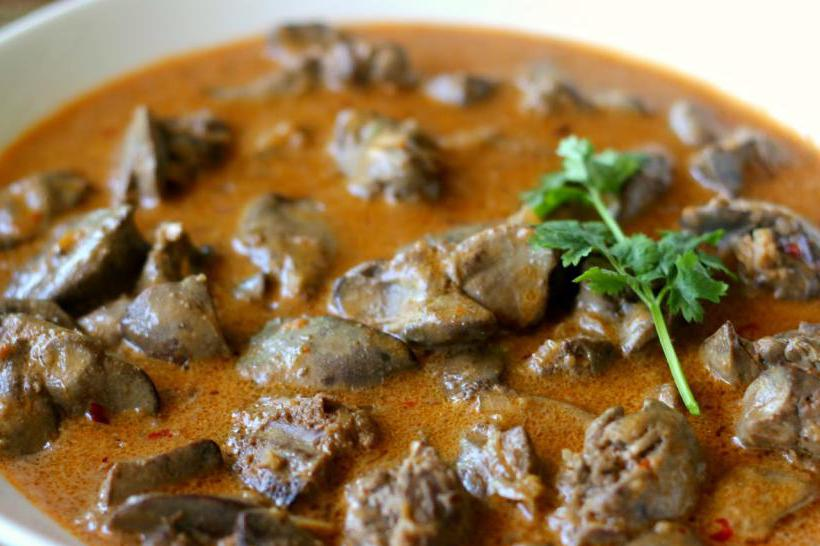печеночный суп