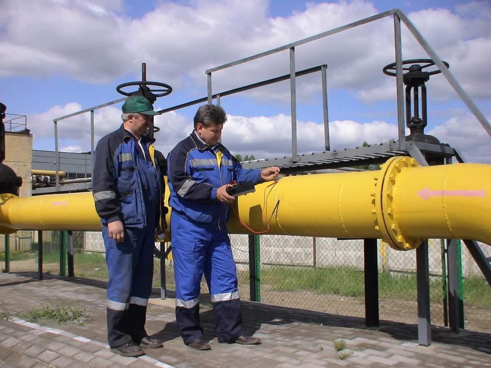 Проверка газопровода