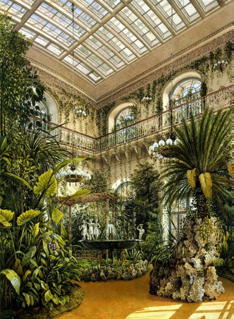 Висячий сад Эрмитажа
