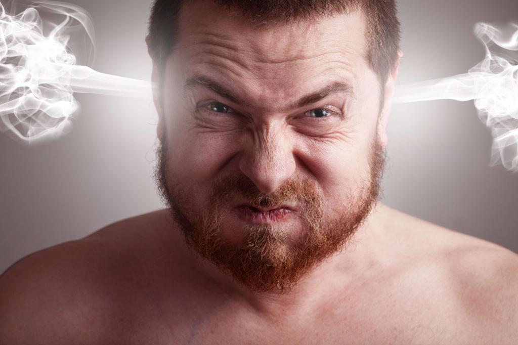 Мужская агрессия