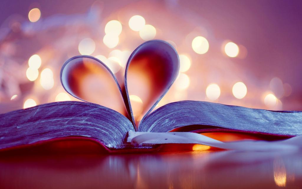 Сердце в книжке