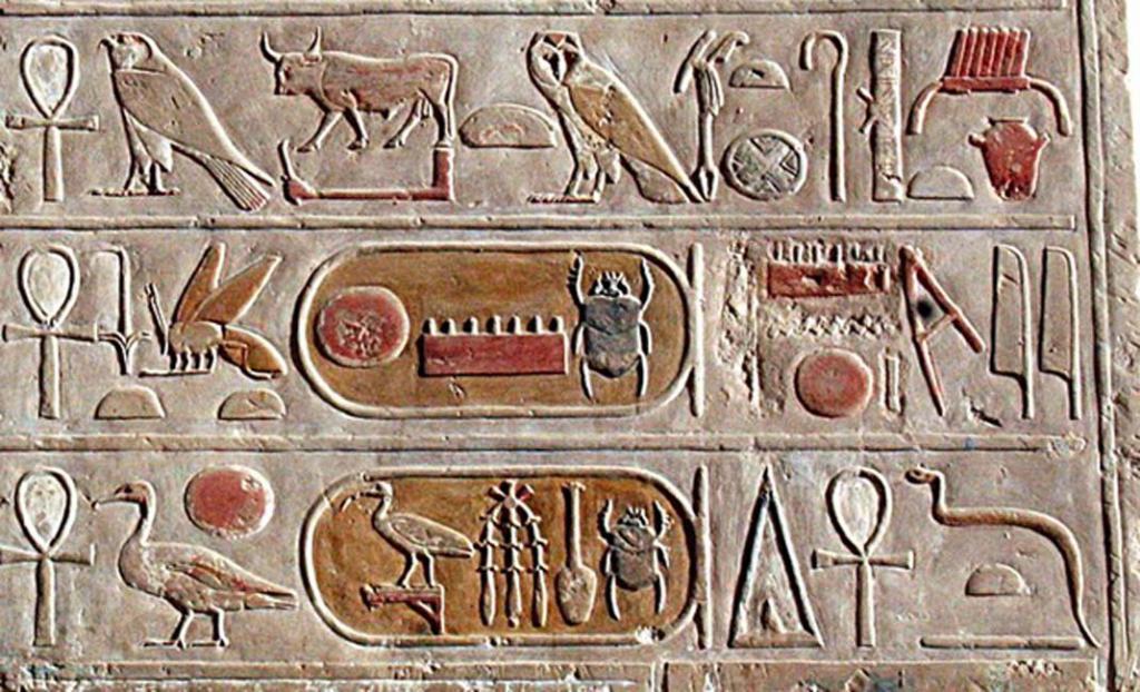 Египетские знаки