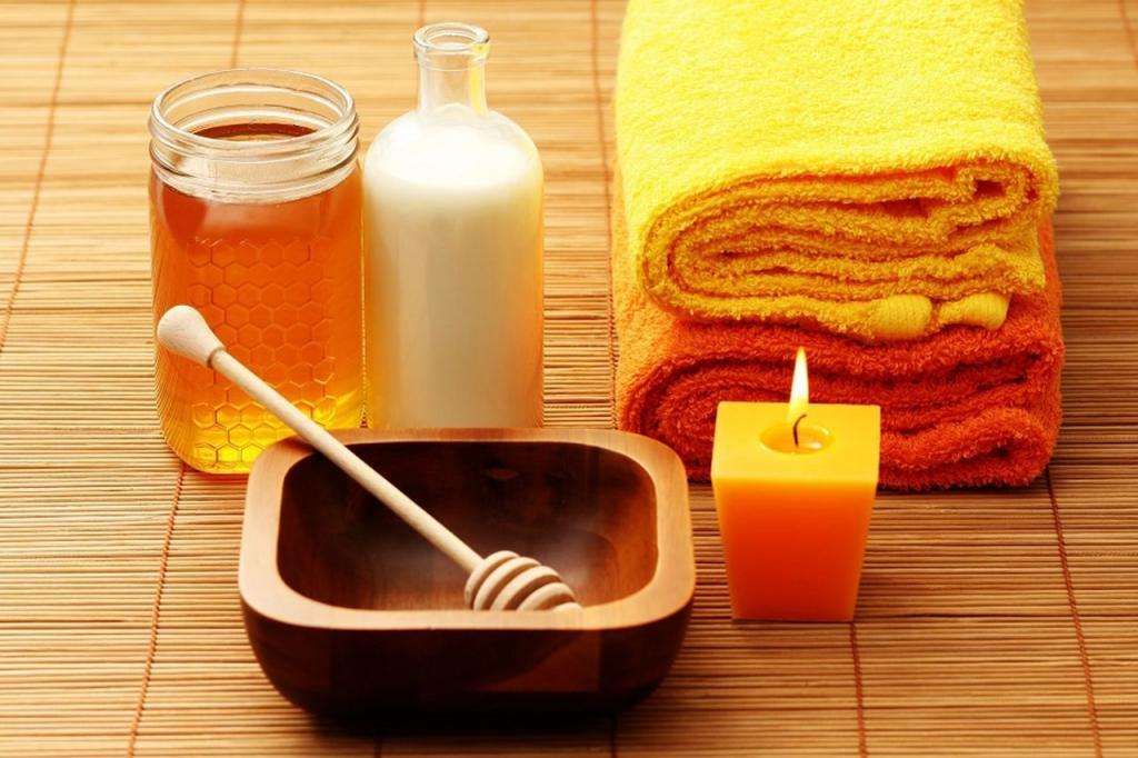 Мед в бане: как использовать для тела