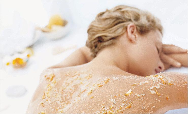 Скрабирование медом и солью