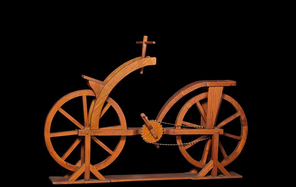 Велосипед, придуманный гением