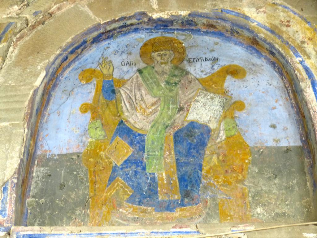 Фреска с изображением Спиридона