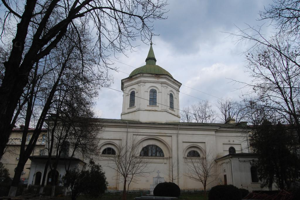 Церковь Святого Спиридона в Румынии