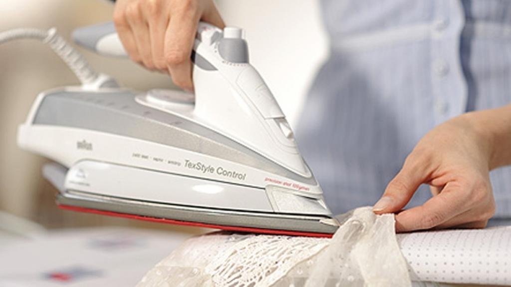 Как гладить синтетический тюль