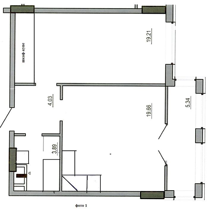 Квартира-студия улучшенной планировки