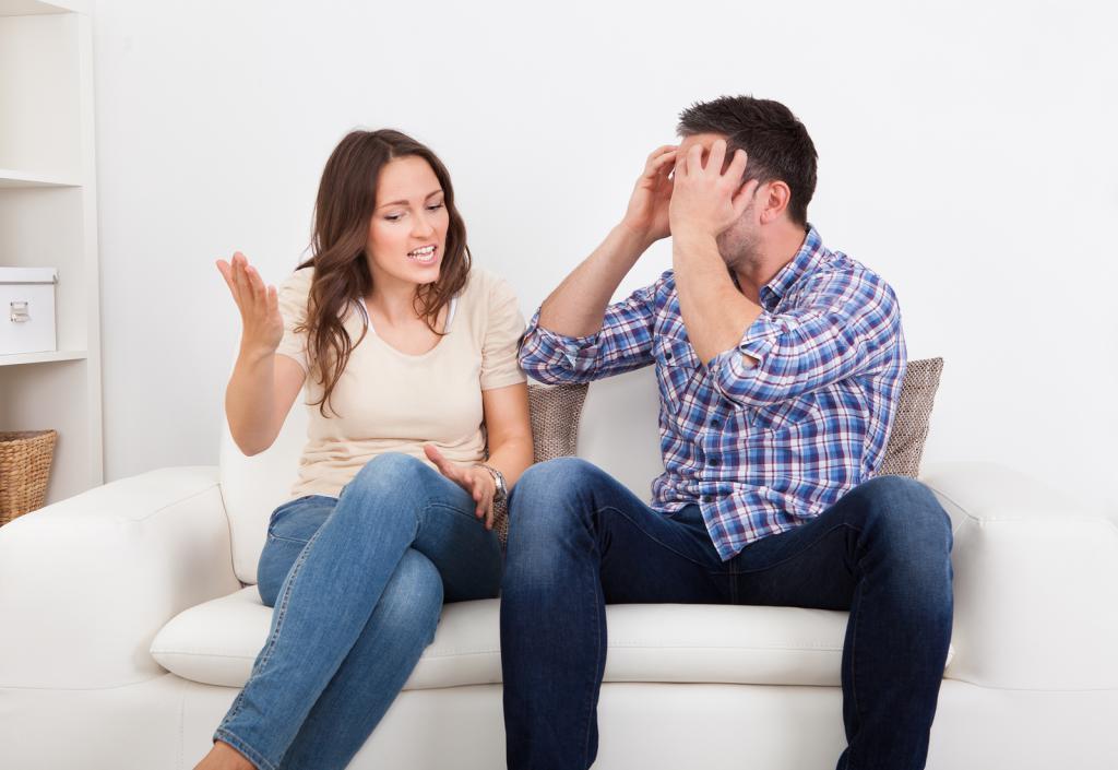 жена решила наказать мужа за измен