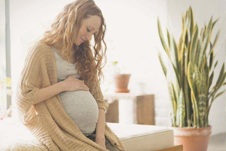 беременная девушка