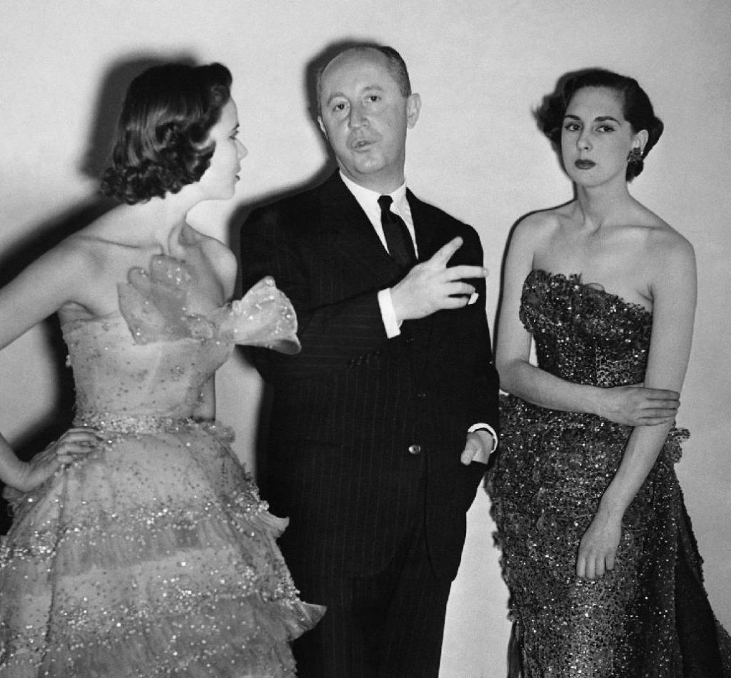 женская мода 50 годов