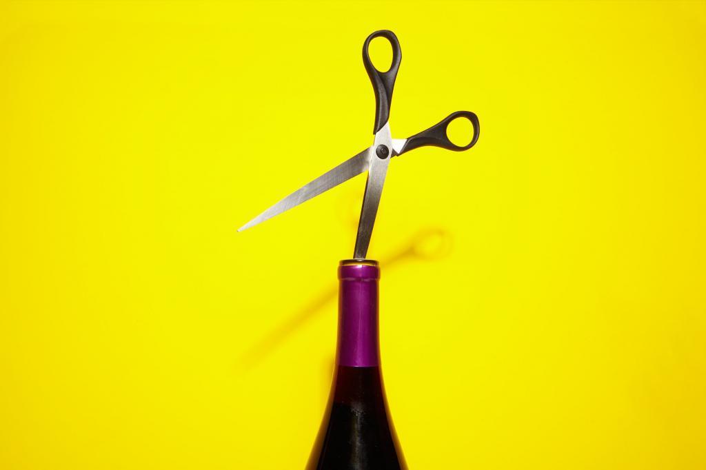 Использование ножниц
