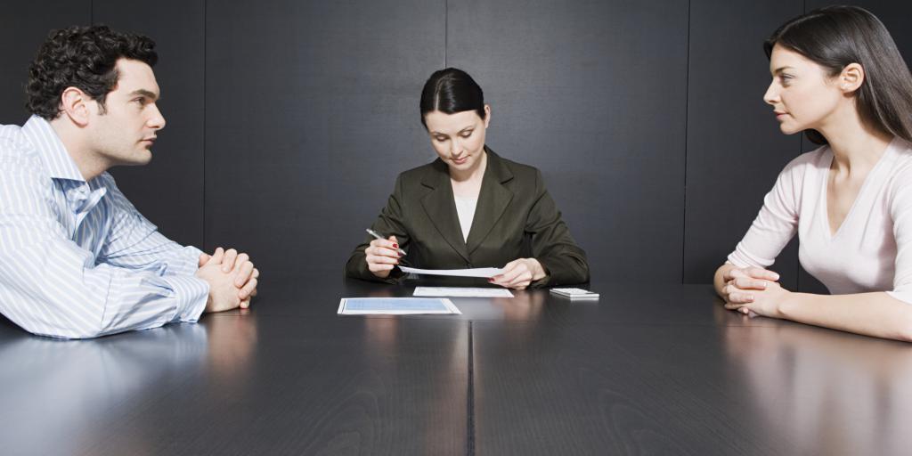 Судебный процесс развода