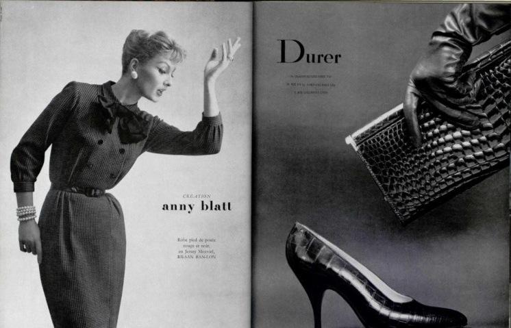 мода 50 годов обувь