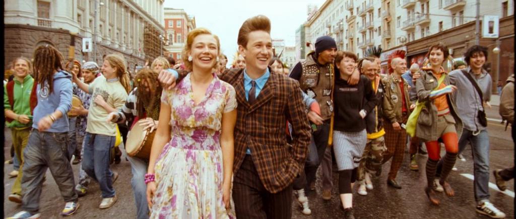 мода 50 годов стиляги