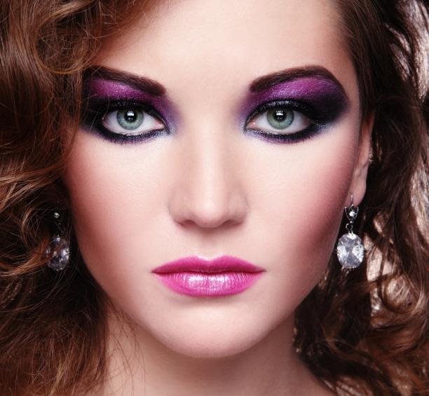 макияж в стиле диско