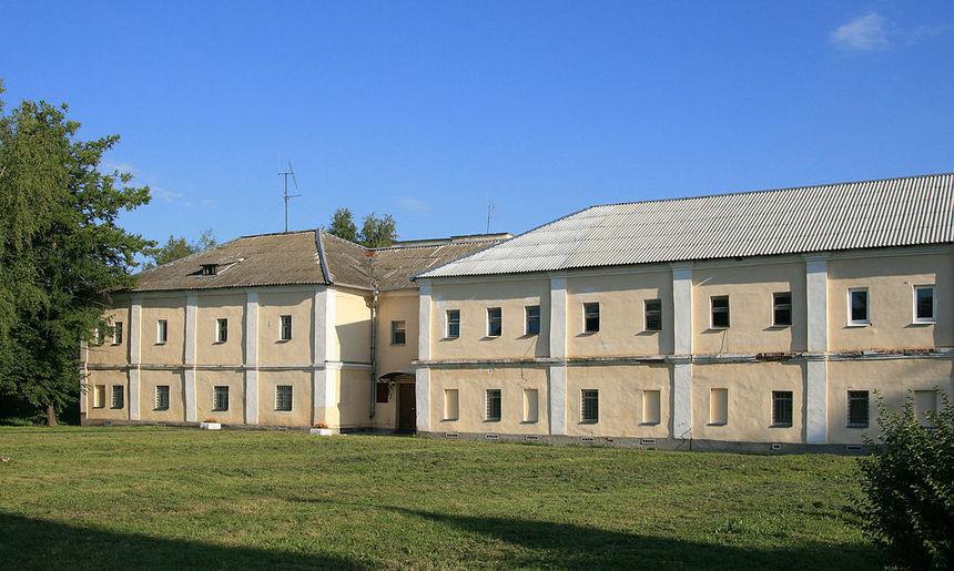 Строения в северной части обители