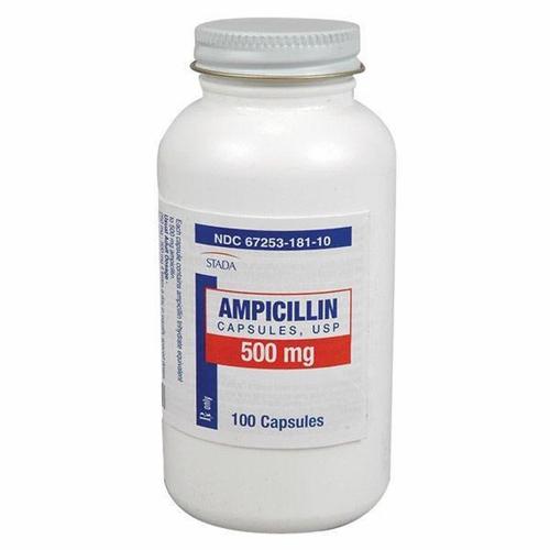 Ампициллин во флаконе