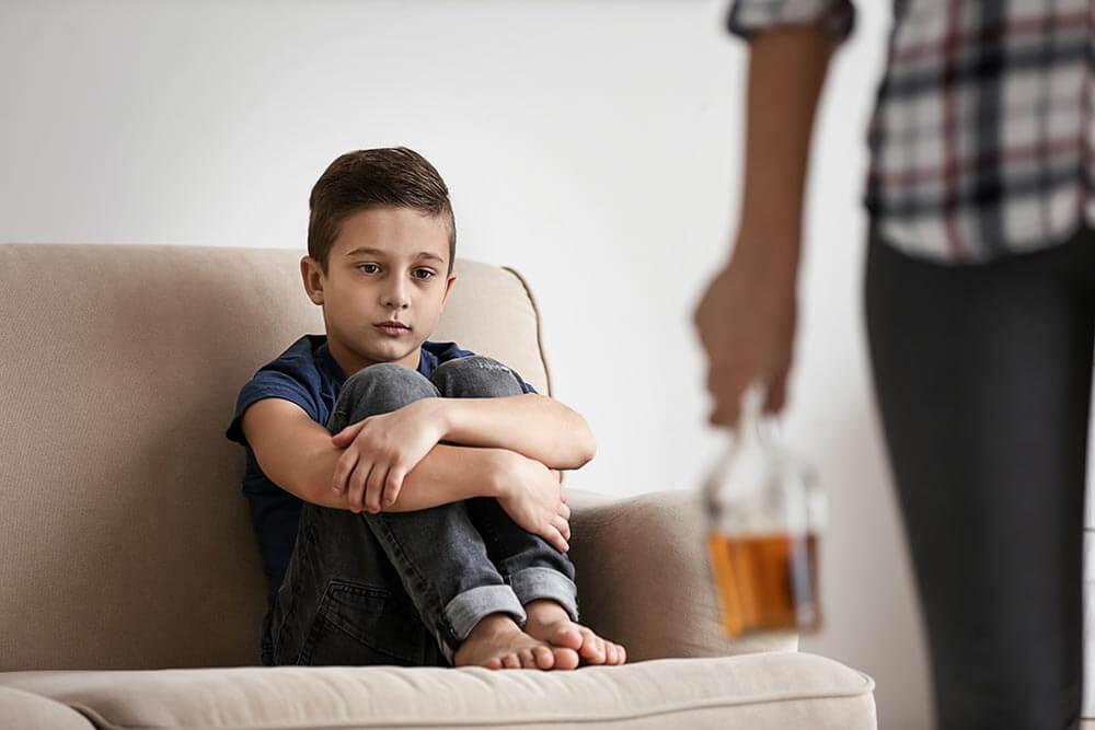 Ребенок и пьющие родители