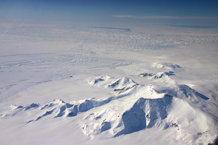 Фото ледникового покрова