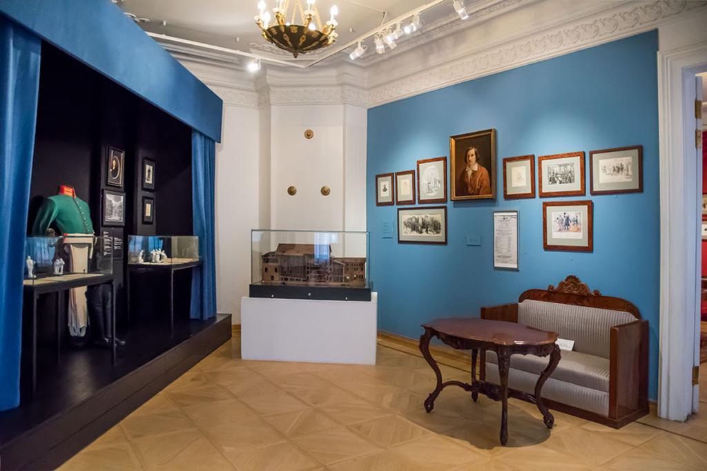 Экспонаты дом-музея Щепкина