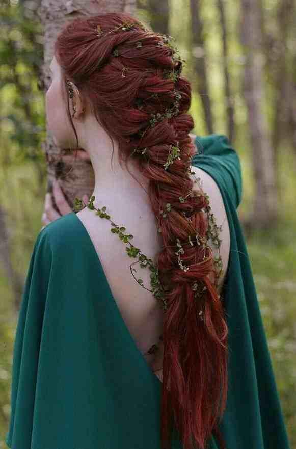фантазийная коса