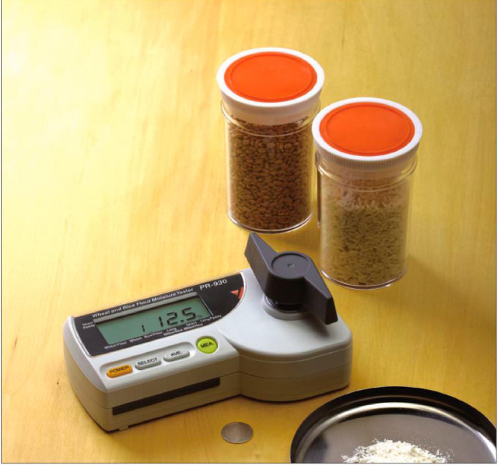 анализ проб зерна