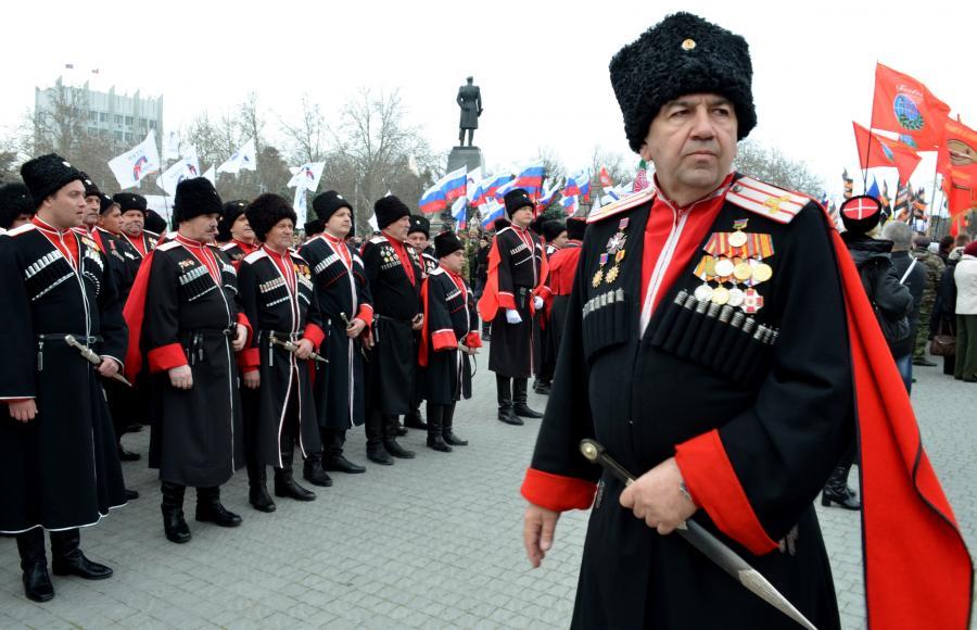 Современные кубанские казаки