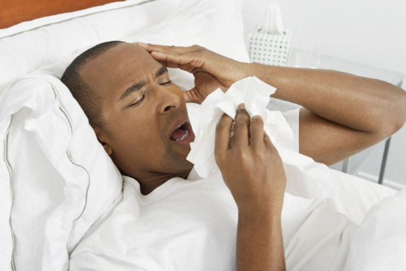 инфекция дыхательных путей
