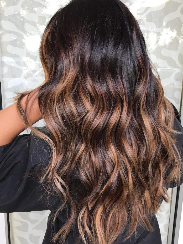 модно красить волосы фото