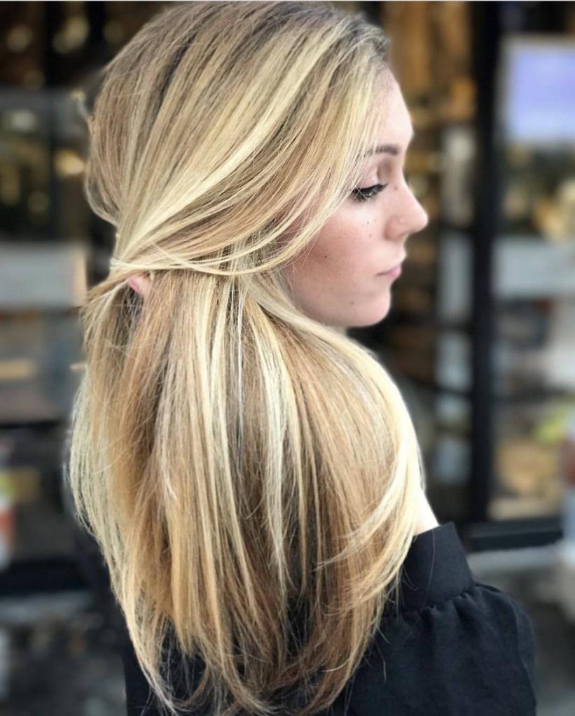 модно красить волосы