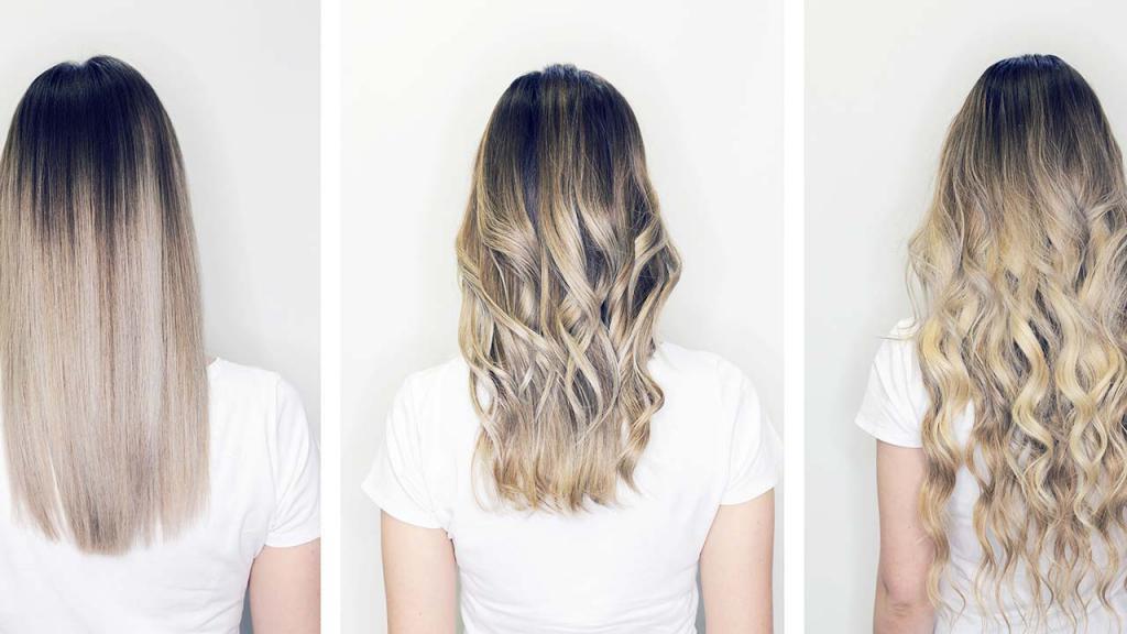 как модно красить волосы фото
