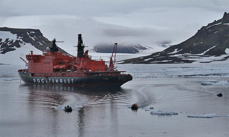 Высадка на остров Северной Земли