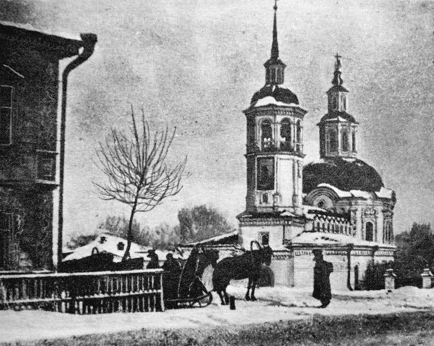 Церковь Иоанна Предтече в XIX веке