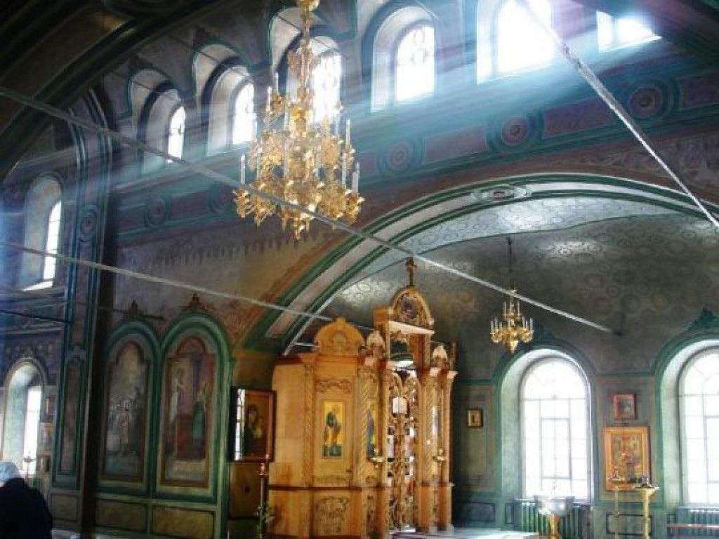 Архитектурная особенность храма