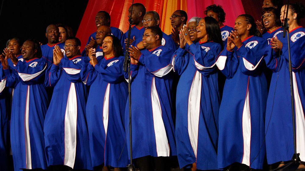 негритянский церковный хор