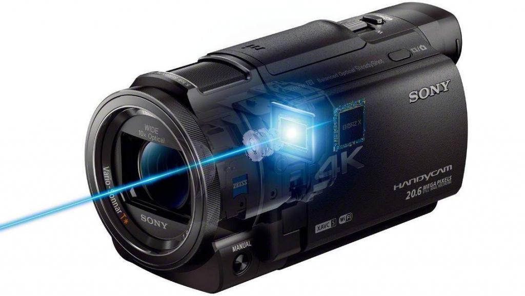 Видеокамера Sony FDR-AX100/B
