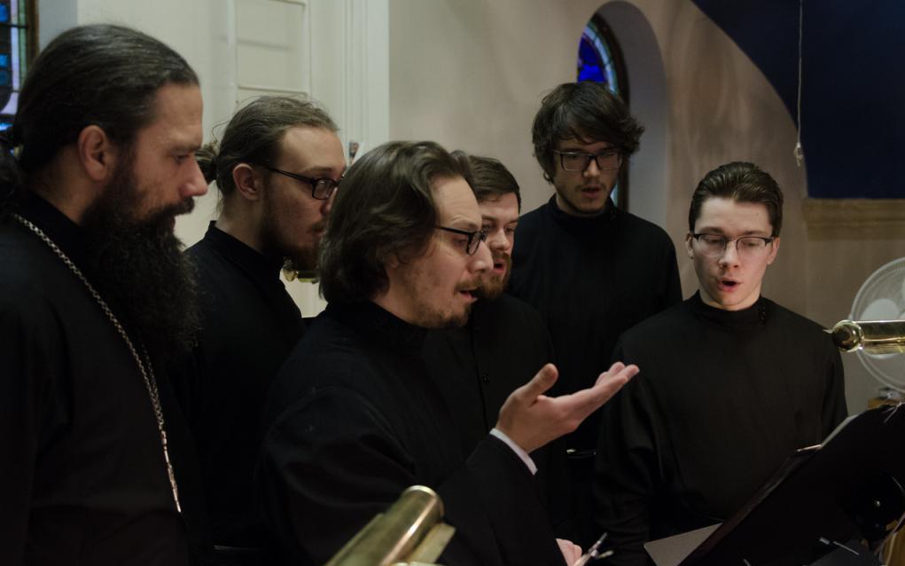 мужской православный хор