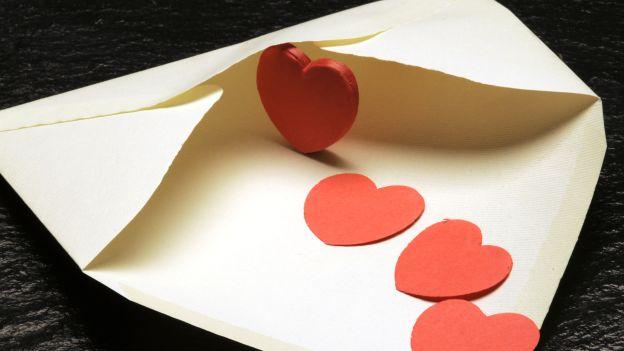 романтическое письмо любимому
