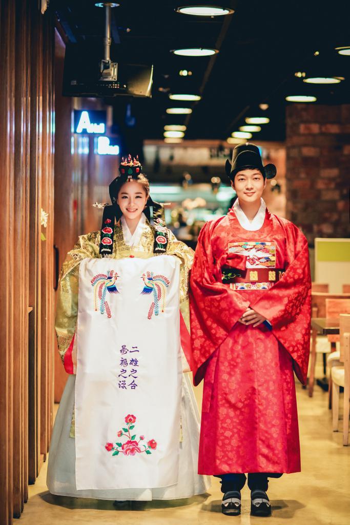 Корейская свадебная церемония
