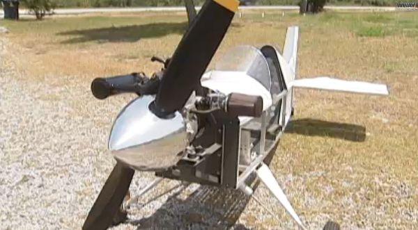 летательный аппрата с открытой кабиной