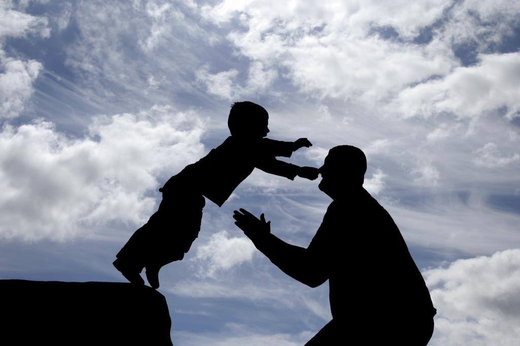 Сын доверяет отцу