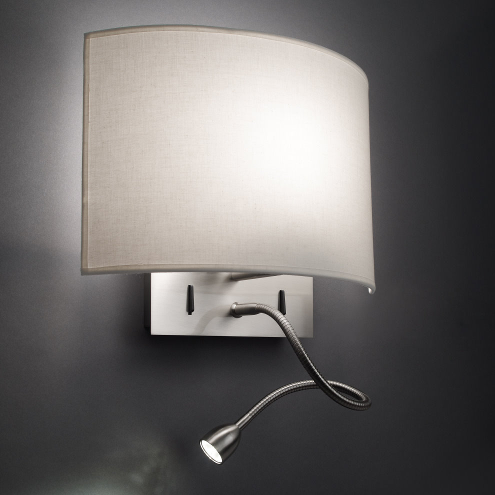настенный светильник с лампочкой
