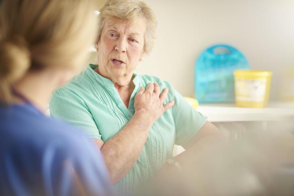 давящая боль в груди