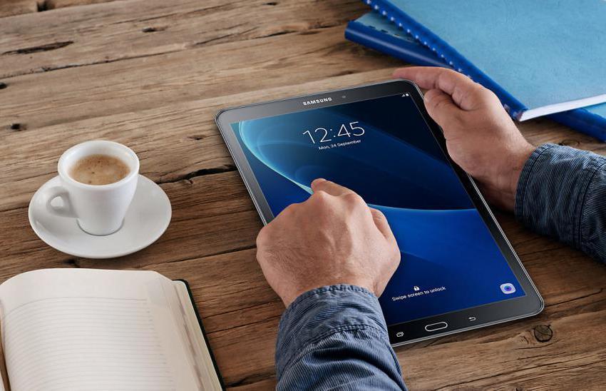 характеристикик планшета Samsung Galaxy Tab A SM-T580