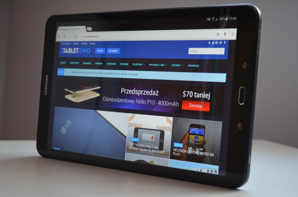 обзор планшета Samsung Galaxy Tab A SM-T585